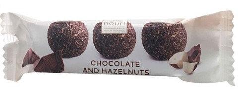 Vegan Chocolate & Hazelnut Truffles