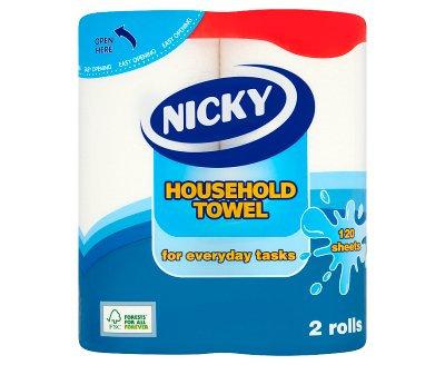 Nicky Kitchen Towel 2 Rolls