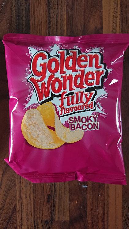 Golden Wonder Smoky Bacon