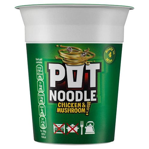 Chicken & Mushroom Pot Noodle