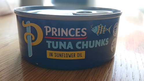 Tuna in Sunflower Oil