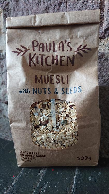 Paula's Kitchen Muesli Nuts and Seeds