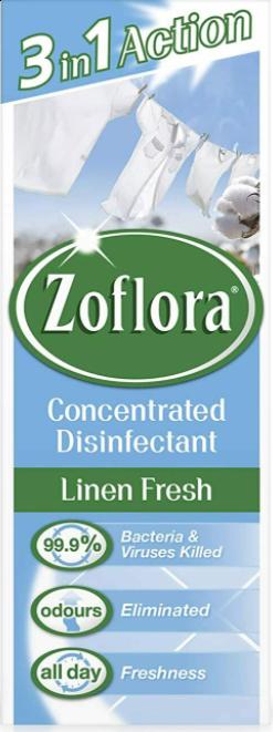 Zoflora Disinfectant Assorted Linen Fresh 120ml