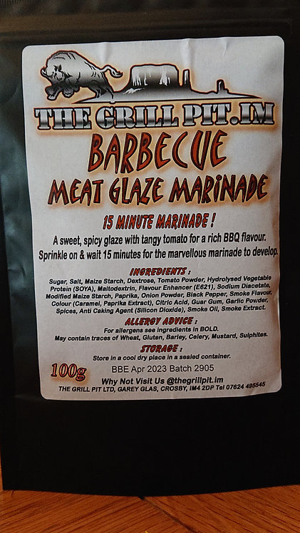 Barbecue Meat Glaze Marinade