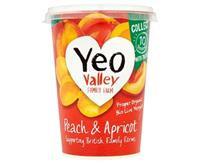 Yeo Valley Peach & Apricot Yoghurt