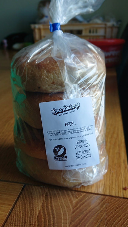 Bagels Pack of 4