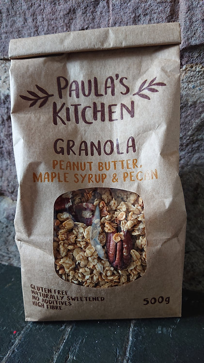 Paula's Kitchen Granola Peanut Butter, Maple Syrup & Pecan