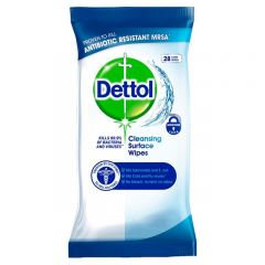 Dettol Anti-Bacterial Surface Wipes 72's