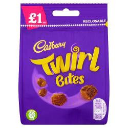 Cadbury's Twirl Bites