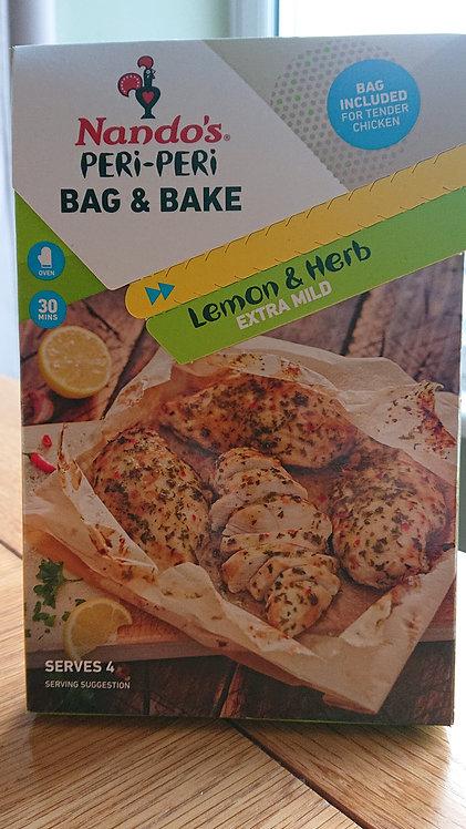 Nando's Bag & Bake Lemon and Herb