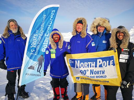 The North Pole!!!
