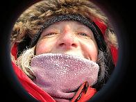 PolarExplorers Guide Annie Aggens on a North Pole Last Degree trek.