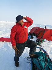 Polar expedition guide Byron Bade
