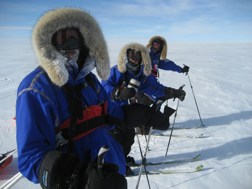 South Pole, Half Way There!