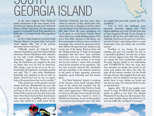 Stormtech Sponsors PolarExplorers South Georgia Expedition