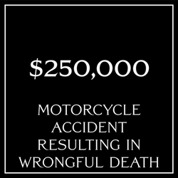Wrongful Death Motorcycle Accident
