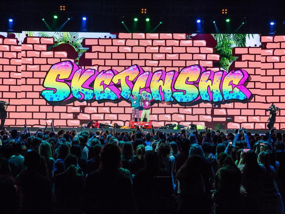 YouTube FanFest Performance