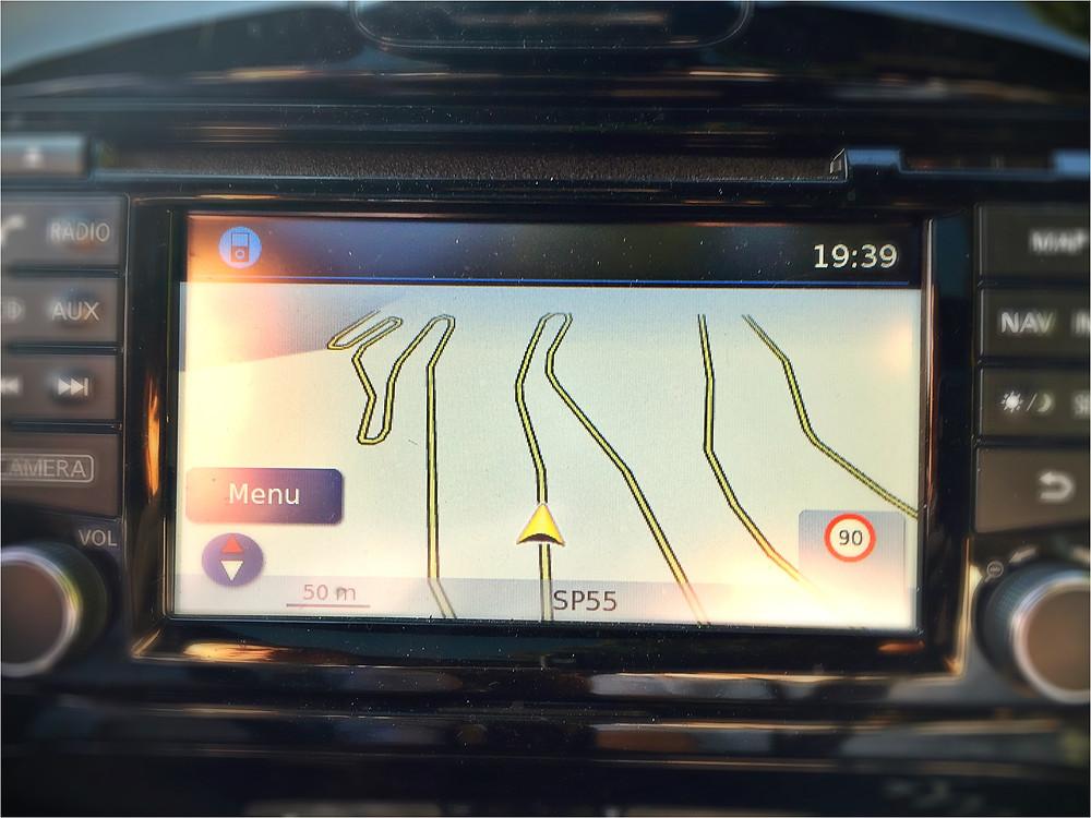GPS fail.