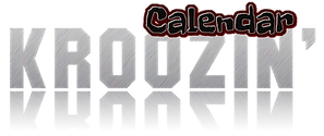 Kroozin Calendar