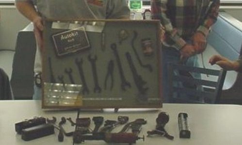 Tom Beardsley's 1930 Tools
