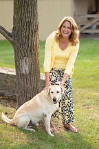 Joanne McHugh with her dog, Henry.jpg