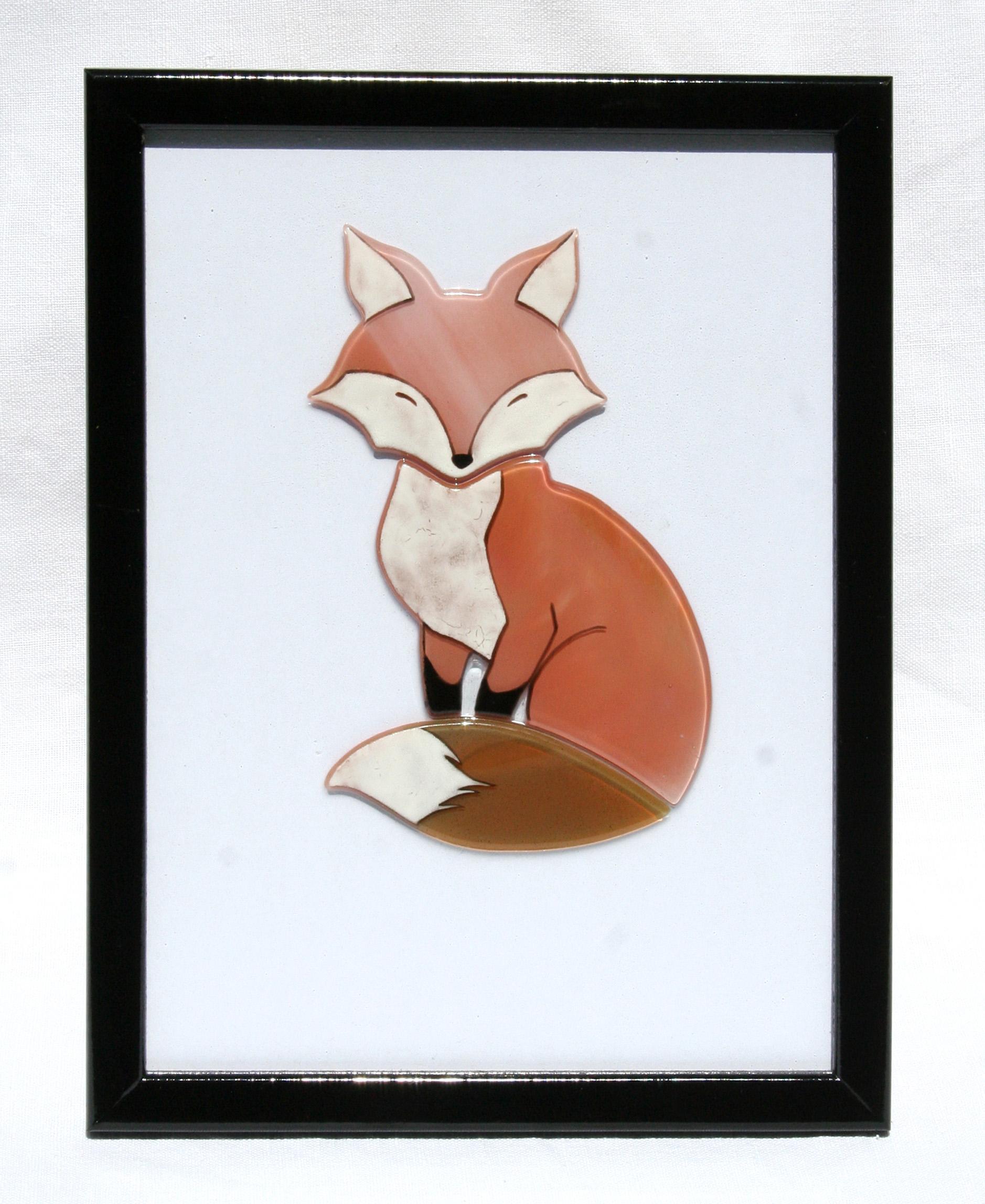 Cadre mural renard