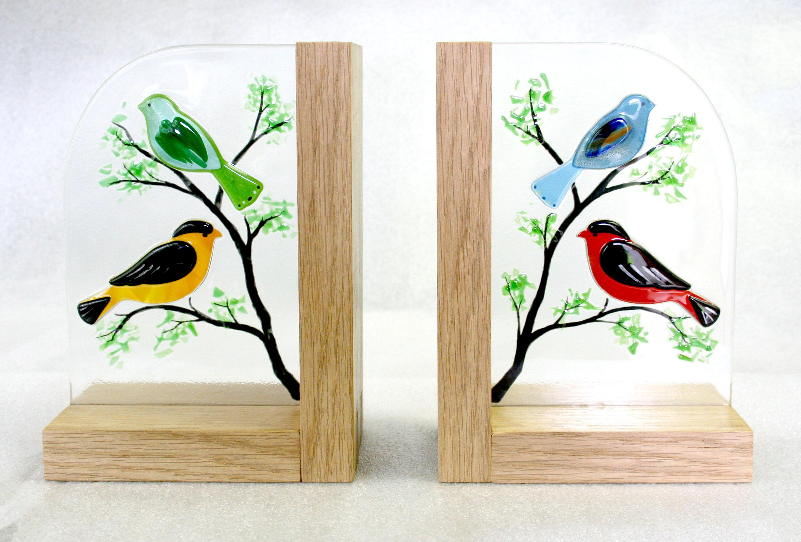Serres-livres oiseaux