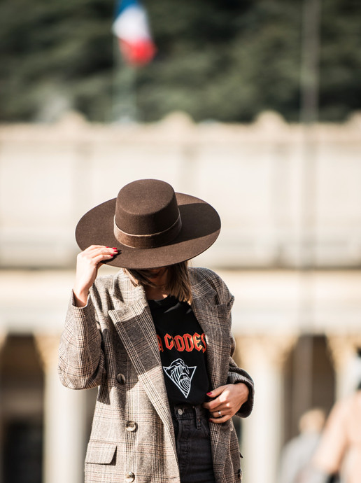 Chapeau Francie Brown