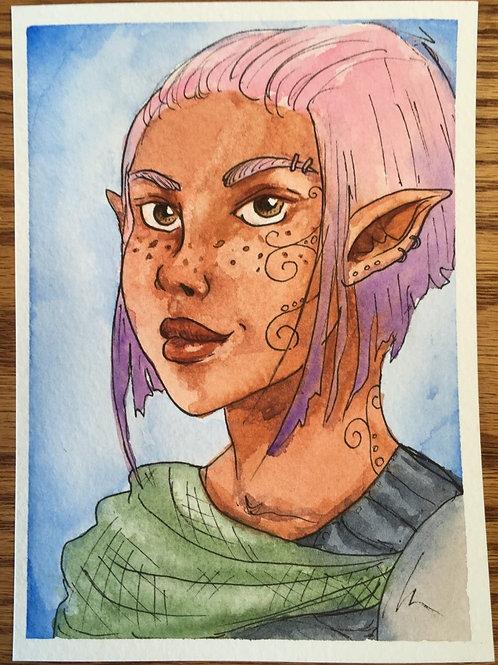 Custom Commissioned Character Art