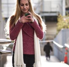Smartphones Boost Veggie Intake