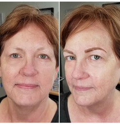 Before & After Soft Powdered Brows