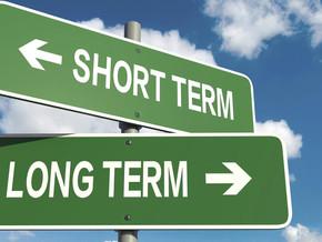 Short vs. Long Term Benefits