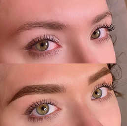 Before & After Combo Brows