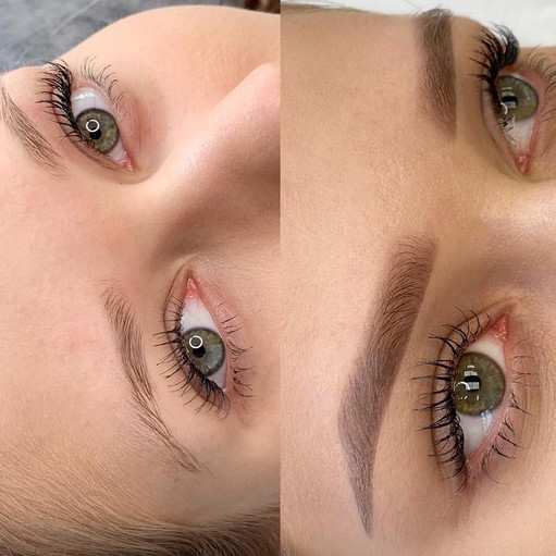 Before & After Soft Ombré Brows