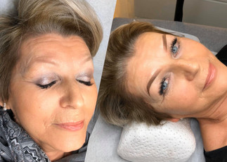 Before & After Ombré Brows