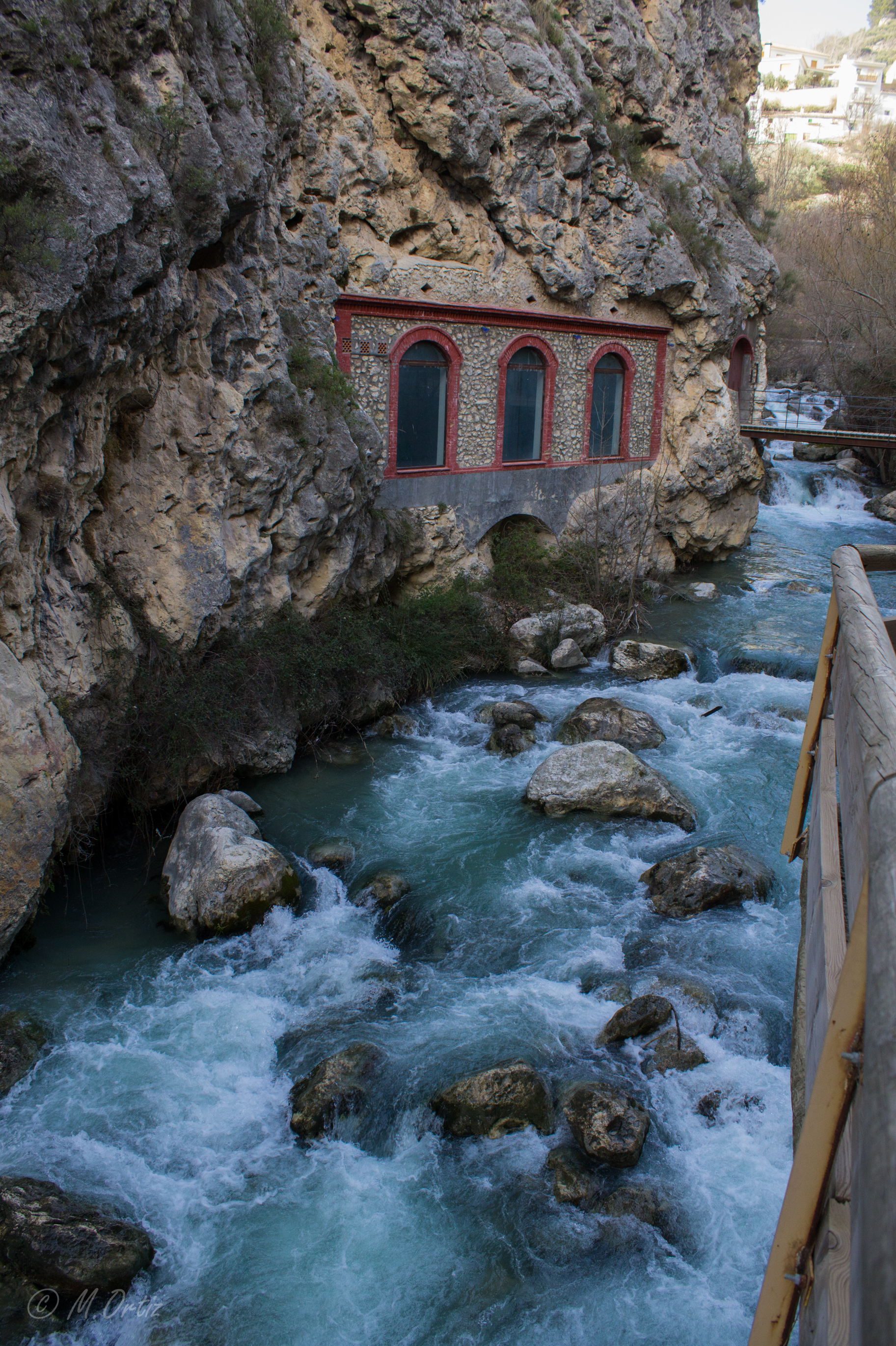 Ancient hydro-power plant