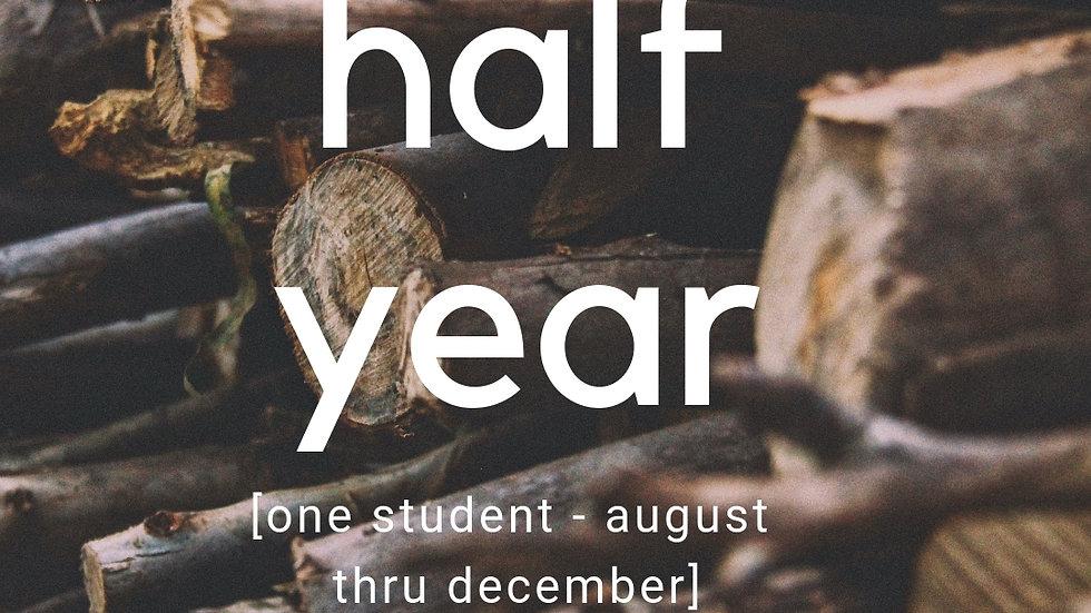 Half-Year (August-December)
