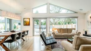 1950's Uplands Home gets a Midcentury Modern Renovation