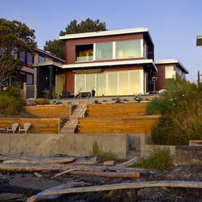 Modern Custom-Built Waterfront Home in Gonzales Bay