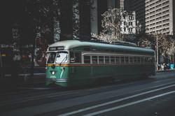 Green Rail Cars