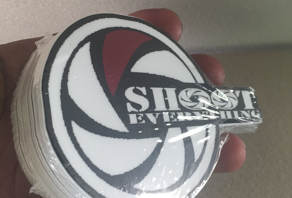Shoot Everything Stickers