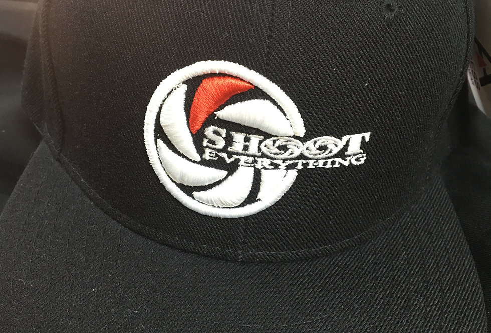 Shoot Everything Fitted Hat / Snap Back