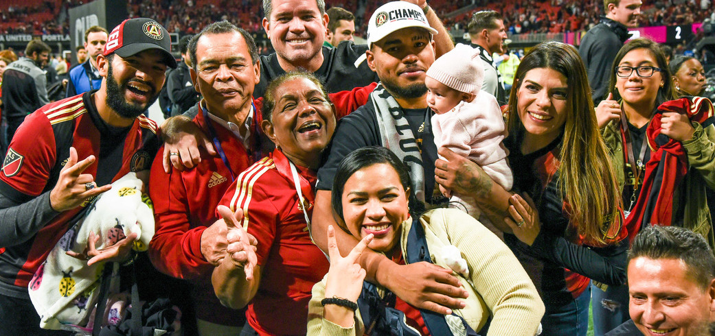 J. MARTINEZ AND FAMILY