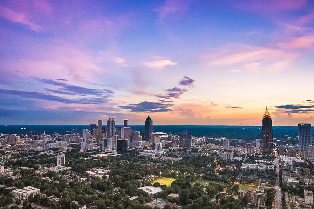 On Top of the Atlanta SkyLine