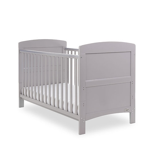 oBaby Grace Cotbed Warm Grey