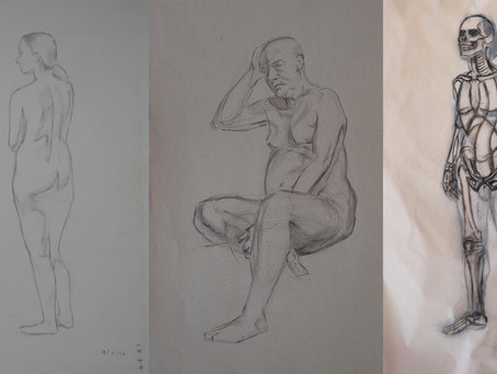Academic Drawing with Anatomy Seminar
