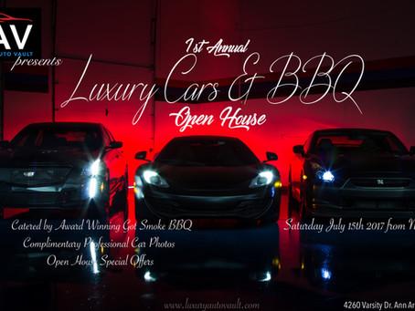 Luxury Auto Vault presents 1st Annual Luxury Cars & BBQ