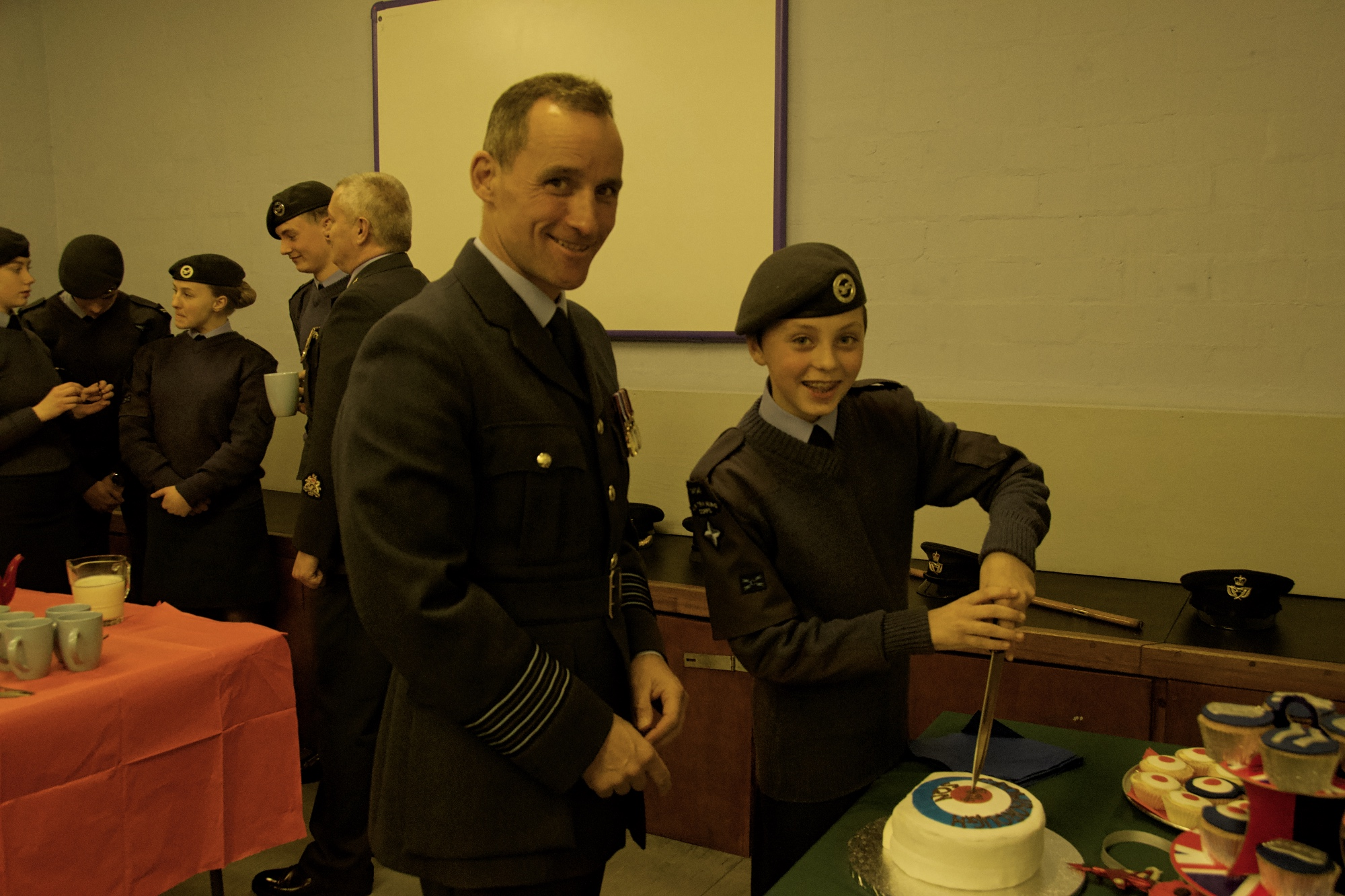 NAAFI - tea and cake