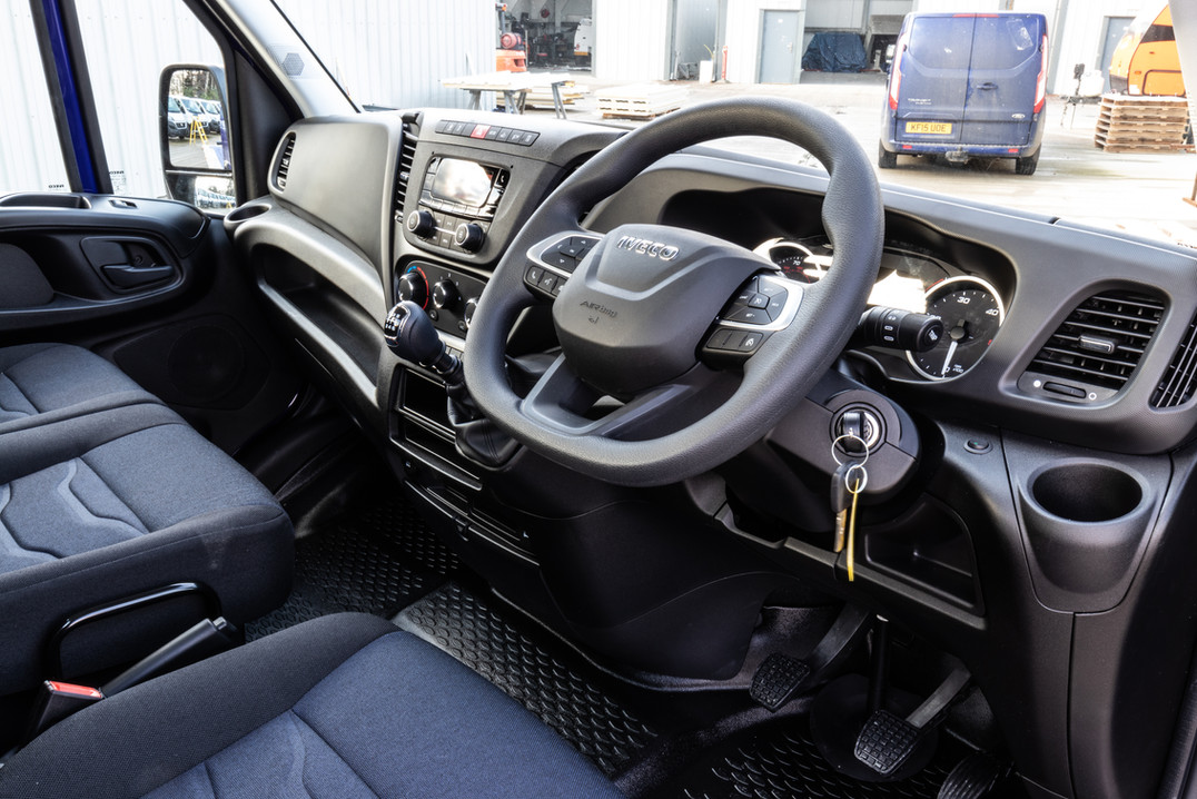 New Shape IVECO Interior