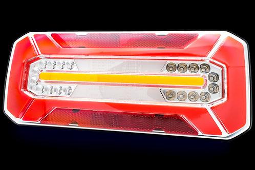 Rear LED Light With Progressive Indicator